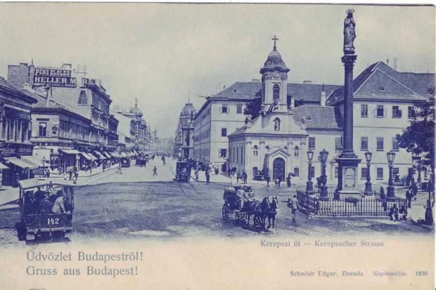 1800-as évek vége, Kerepesi út, 8. és 7. kerület