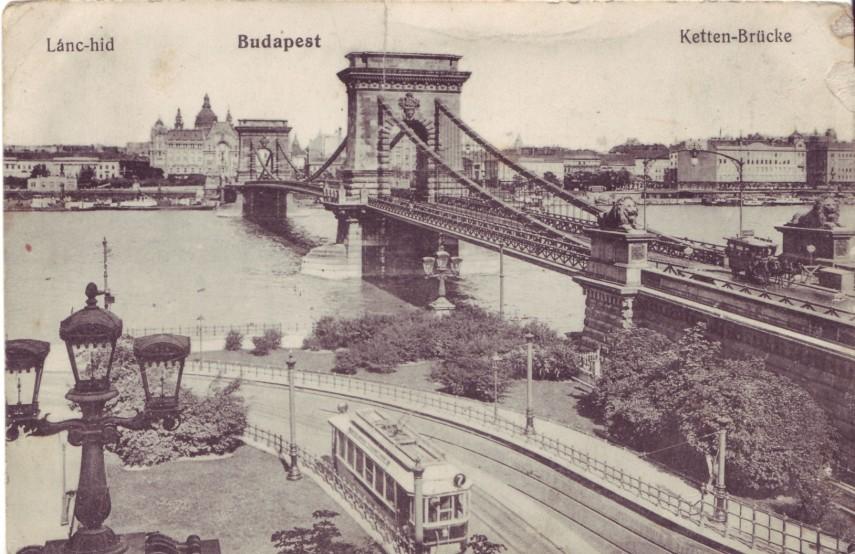 1910-es évek, Lánchíd tér, 1. kerület