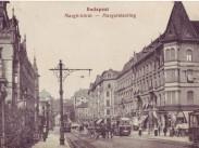 1910 táján, Margit körút, 2. kerület