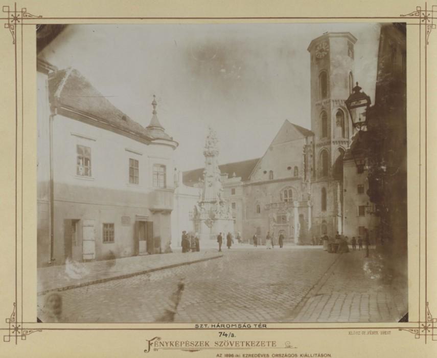 Vár és környéke, Budai vár 1990-1900, 1. kerület