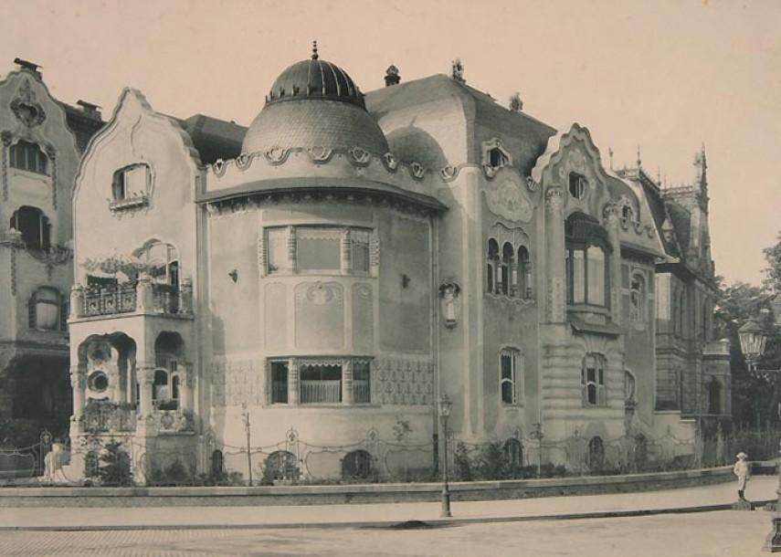 1908 táján, Aréna (Dózsa György) út, 6. kerület