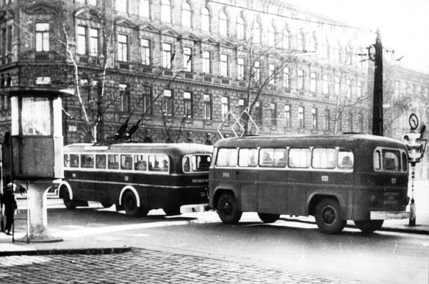 1960-as évek, Hungária körút a Thököly útnál, 14. kerület