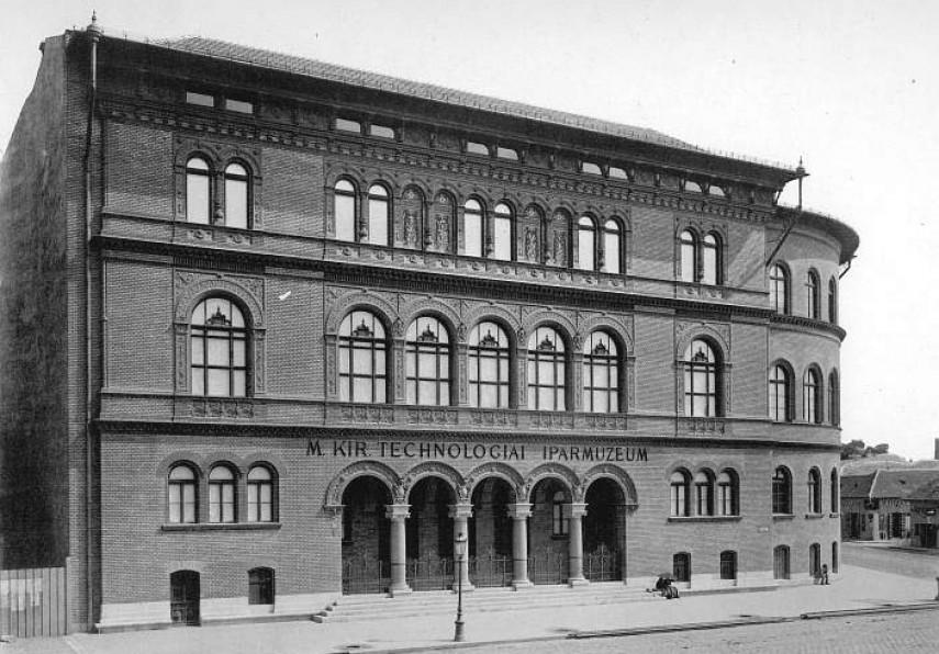 1890, M. Kir.Technologiai Iparmúzeum, 8. kerület
