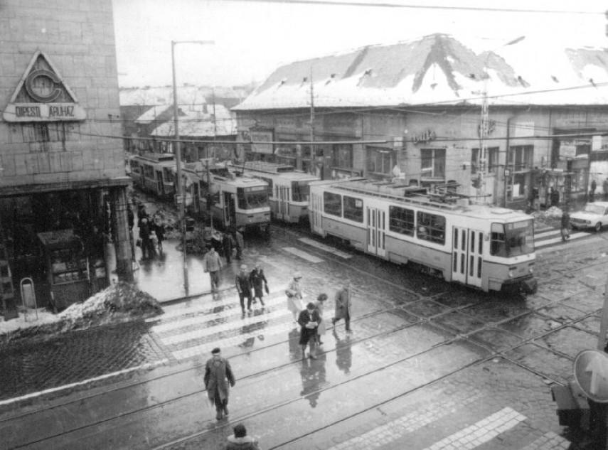 1980-as évek, Újpest, Bajcsy-Zsilinszky (István) út,(1950-től) 4. kerület