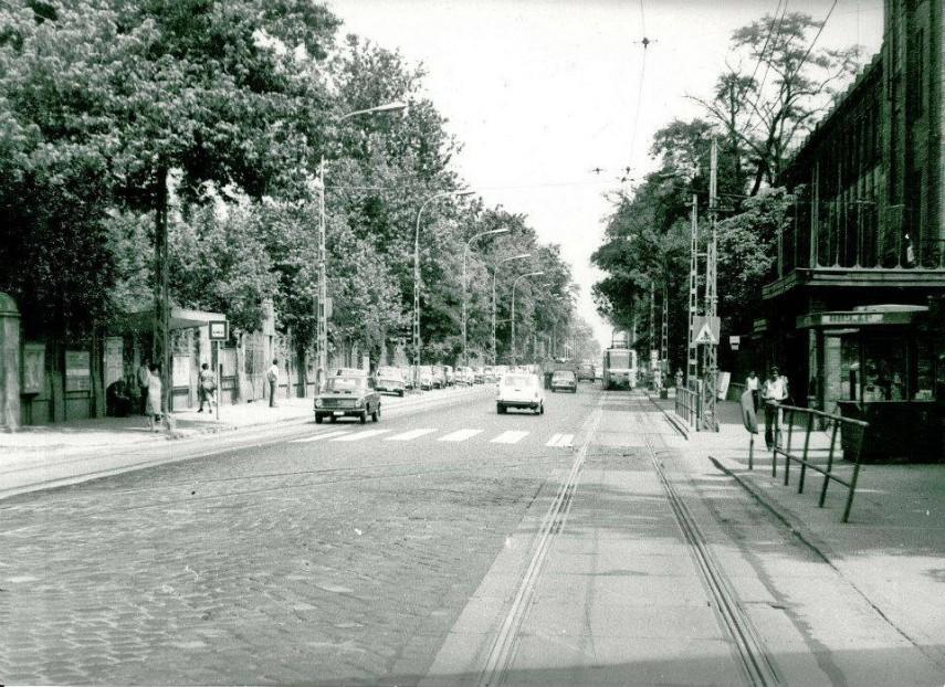 1980-as évek, Váci út, Újpest