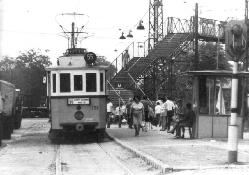 1970-1974, Újpest, Árpád út,(1950-től ) 4. kerület
