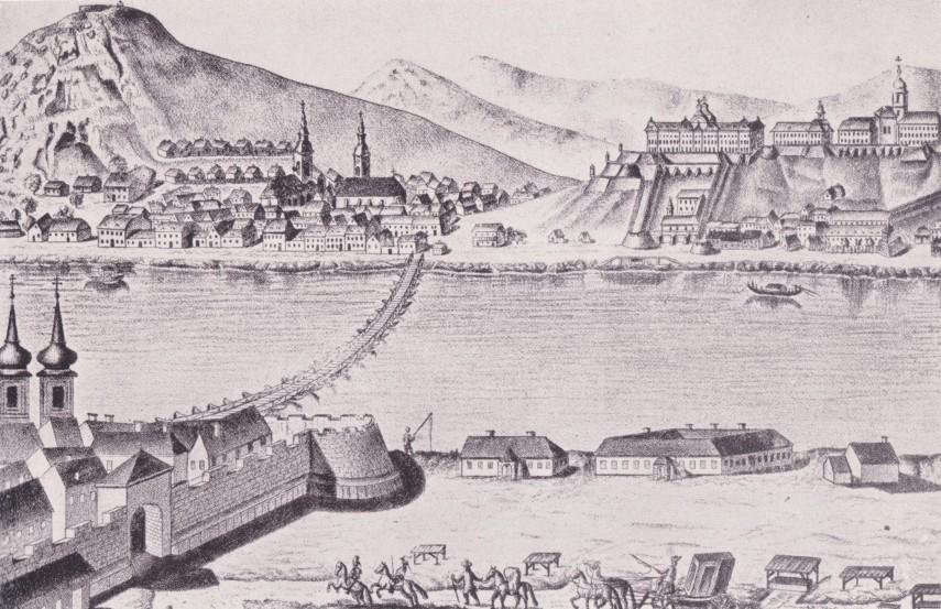 1770-táján, a Váci kapu, később 4., majd 5. kerület