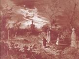 1800-as évek első fele Váczi Országút (Váci út), a