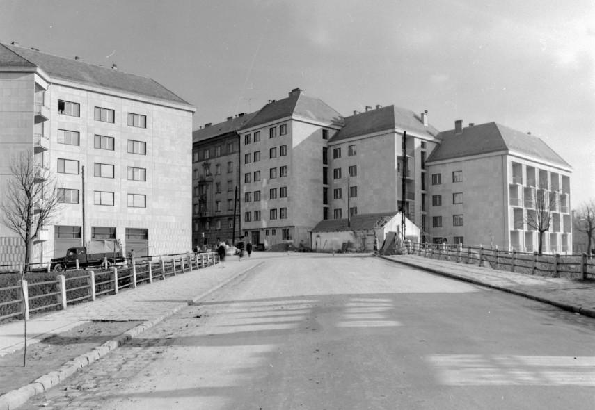 Vár és környéke, Várfok utca X Vérmező utca 1959, 1. kerület