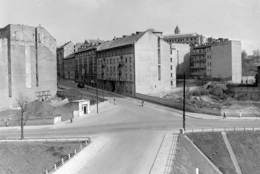 Vár és környéke, Várfok utca X Vérmező utca 1953, 1. kerület
