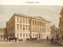 Az 1847 táján, Granadier Gasse (Városház utca), 5. kerület