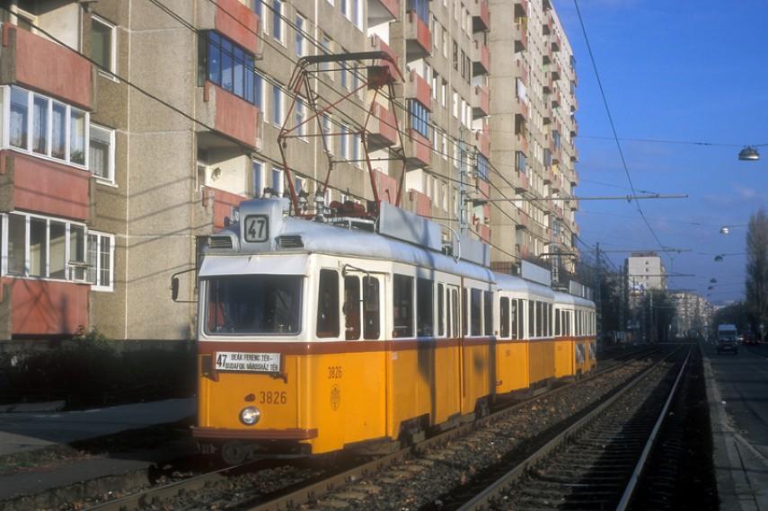 1990-es évek (?) Fehérvári út, a Fonyód utca közelében, 11. kerület