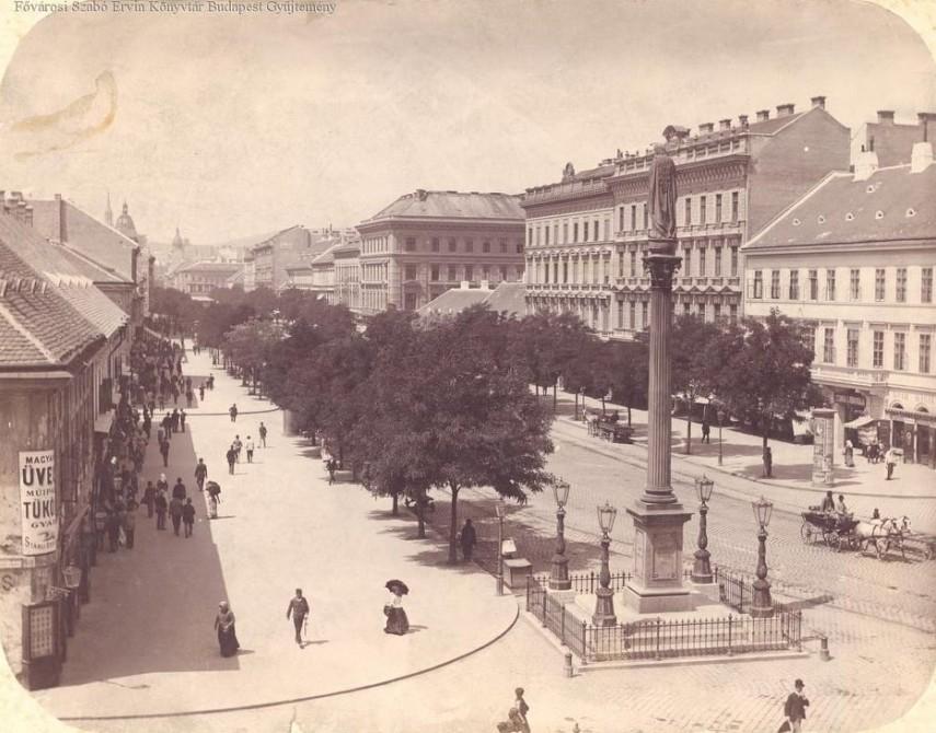 1893, Kerepesi (Rákóczi) út, 8. és 7. kerület