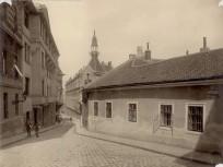 1898, Szalag utca a Szőnyeg utcánál