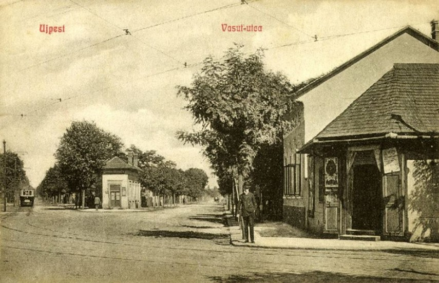 1902, Újpest város, Vasút (Görgey Artúr) utca, 1950 től 4. kerület