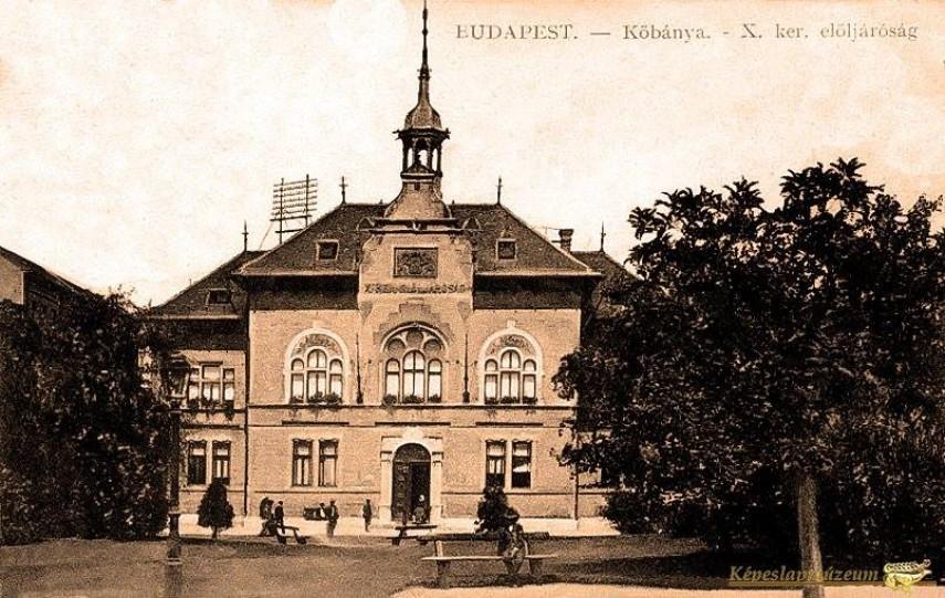 1910-táján, Szent László tér, 10. kerület