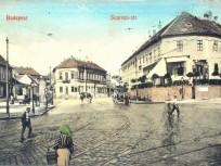 1910 táján, Szarvas tér, 1. kerület