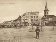 1910-es évek, Szent István tér, Újpest megye jogú város, 1950-től 4. kerület