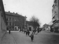 1920-as évek, Batthyány utca a Mária térnél, 1. kerület