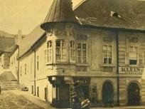 1920 táján Fő utca a Pala utcánál, 1. kerület