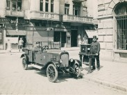 1925 táján, Bakáts tér a Ráday utcánál, 9. kerület