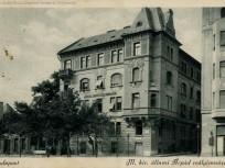 1920-as évek táján, Frankel Leó út a Darázs utcánál, 2. kerület