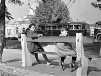 1960-as évek, Stefánia út (Olof Palme sétány), a Műjégpálya