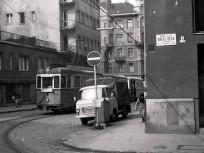 1980, Kresz Géza utca a Katona József utcánál, 13. kerület