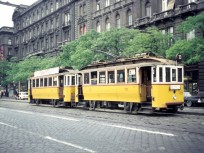 1970-es évek, Váci út a Kádár utca felé nézve, 13. kerület