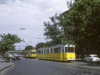 1969, Thököly út a Hungária körút felé nézve, 14. kerület