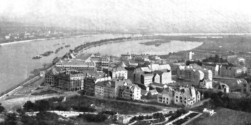 1910 táján, Gellért tér, 11. kerület