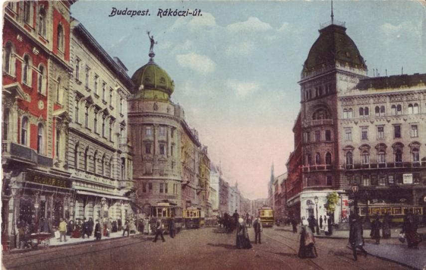 1900-as  évek eleje, Kerepesi (Rákóczi út), 7. és 8. kerület