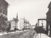1900 táján, Alkotmány utca, 5. kerület