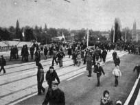 1974, az Árpád úti felüljáró, 15. és 4.kerület
