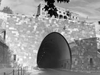 1954, Váralagút, nyugati bejárat, 1. kerület