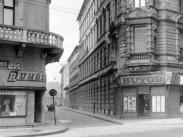 1957, Baross utca és Leonardo utca sarok, 8. kerület