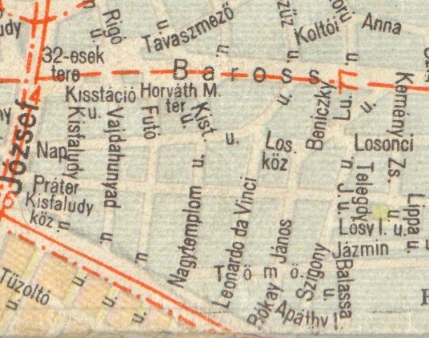 1960-as évek, 8. kerület