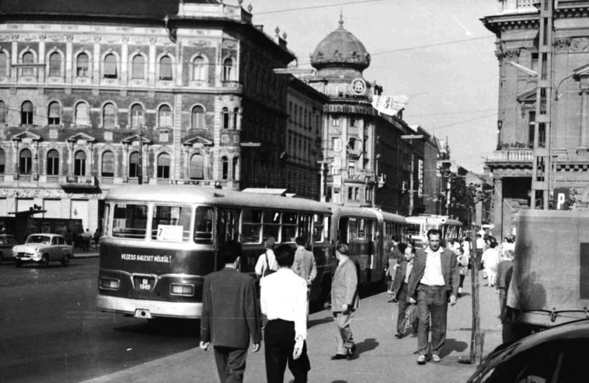 1962, Blaha Lujza tér, 8. és 7. kerület