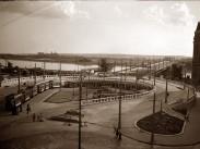 1937 táján, Boráros tér, 9. kerület