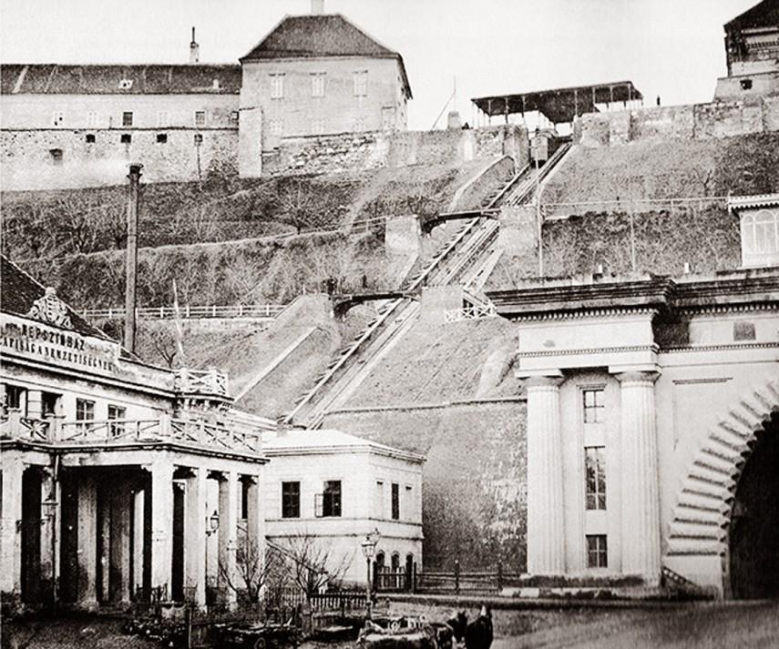 1870, Népszínház (Clark Ádám) tér, 1. kerület