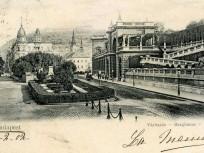 1902, Várkert rakpart, a Várbazár, 1. kerület