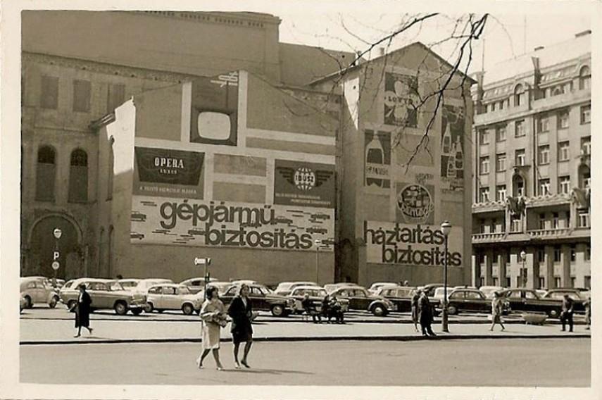 1960-as évek, Vörösmarty tér, 5. kerület