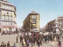 1898 táján, Calvin (Kálvin) tér, 8. és 9. kerület