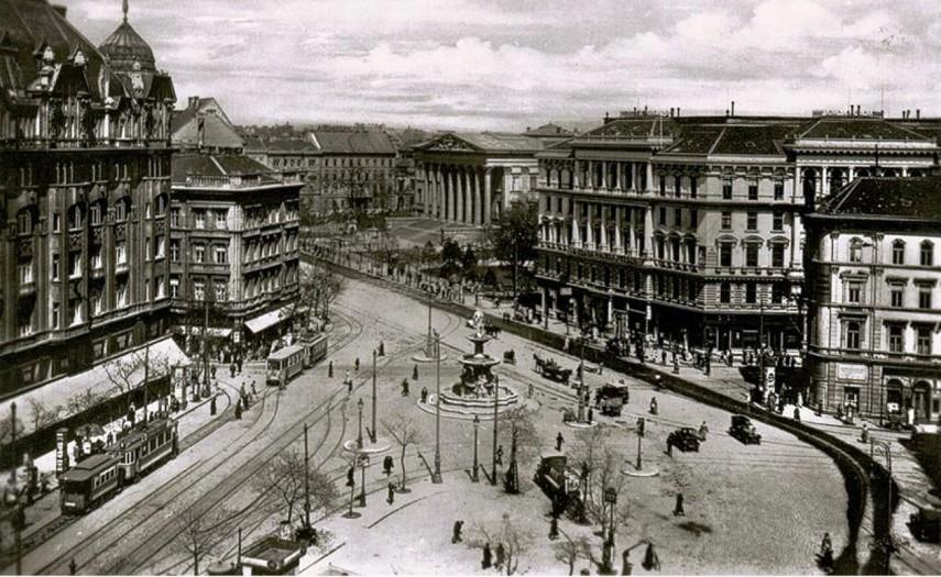 1920-as évek, Calvin tér, 5.,és 8. kerület