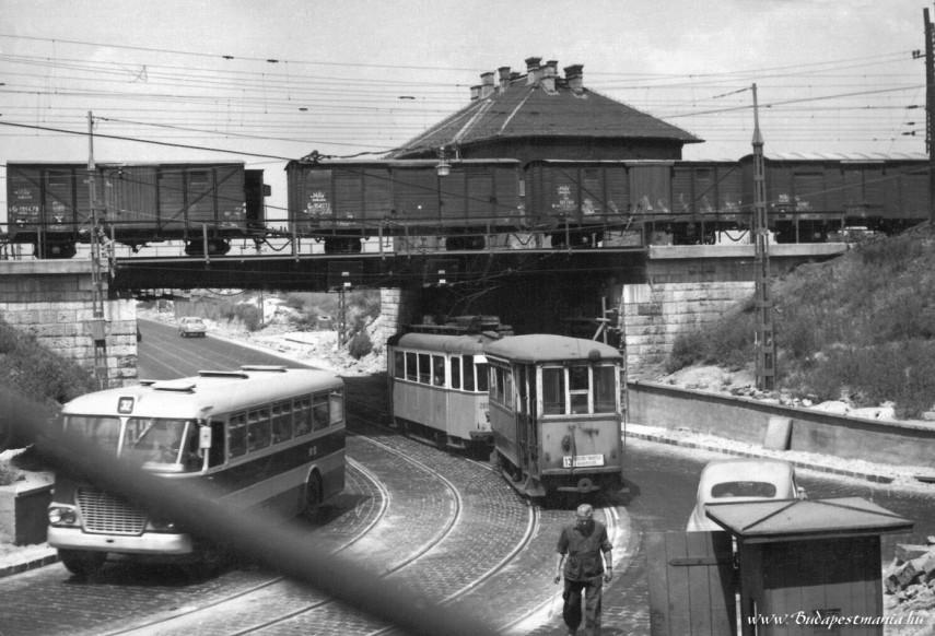 1970, Kőbánya, Fehér út, Éles sarok, 10. kerület