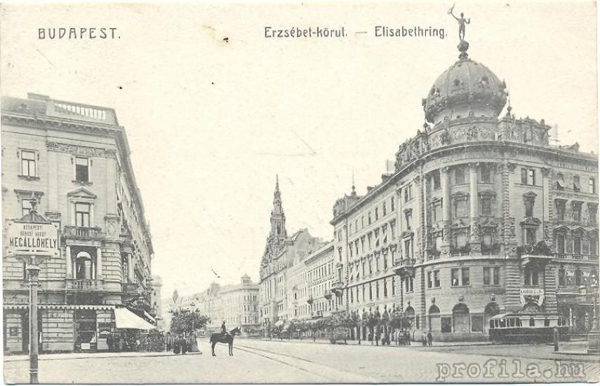 1890-es évek vége, Erzsébet körút, 7. kerület