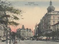 1930 táján Károly király út (Károly körút), 7. és 5. kerület