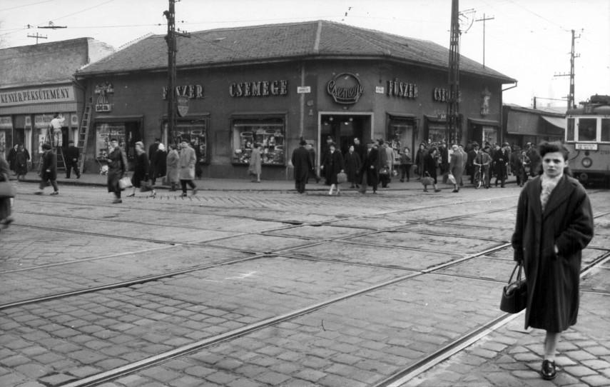 1961, Árpád út, a Bajcsy-Zsilinszky (István út) kereszteződésénél, 4. kerület