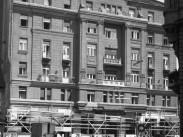 1961, Rákóczi út 90., Szabadság szálló a Berzsenyi utcából nézve, 7., és 8. kerület