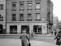 1961, Frankel Leó út a Mártírok útjánál (Margit körútnál), 2. kerület